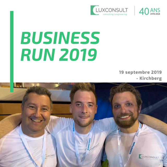 BUSINESS RUN: La deuxième participation pour LUXCONSULT S.A.